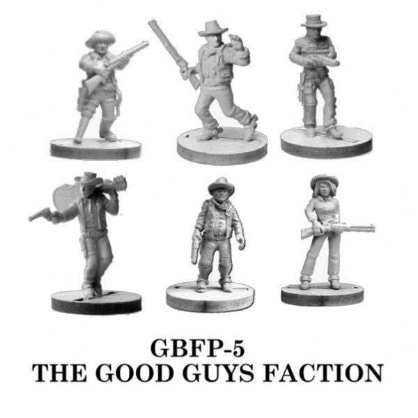 Gunfighters Ball - The Good Guys Faction