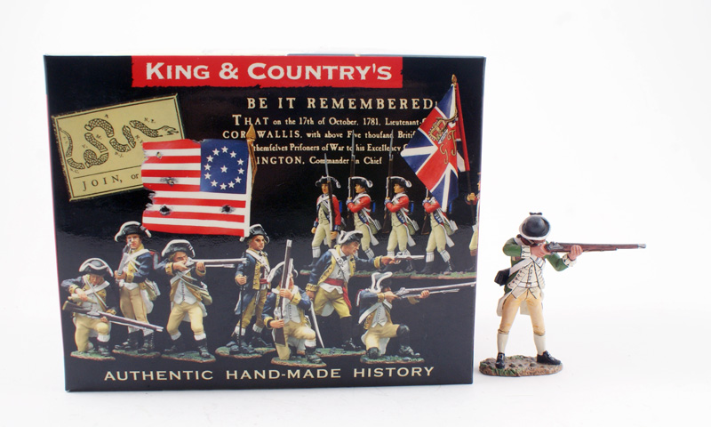 KING & COUNTRY AR045 AMERICAN REVOLUTION CONTINENTAL MARINE 1 AVAILABLE OOP