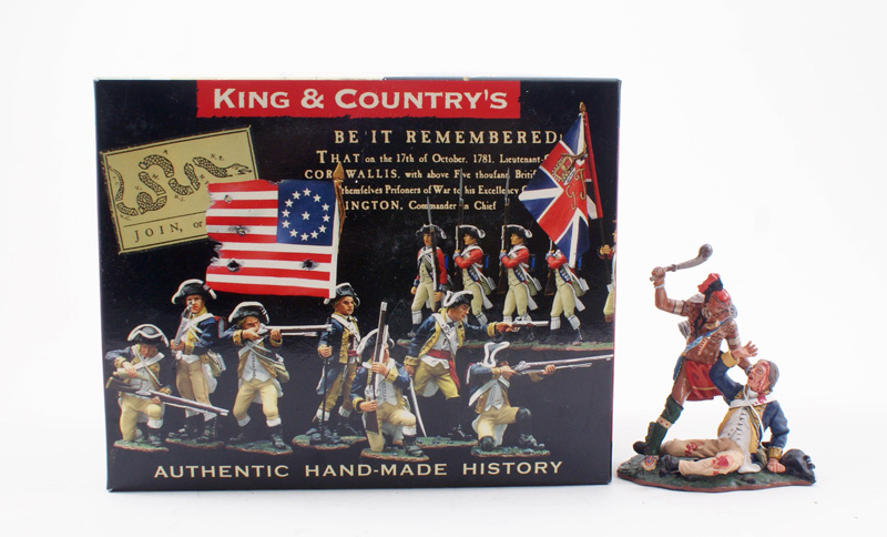 KING & COUNTRY BR047 AMERICAN REVOLUTION TAKE NO PRISoNERS 1 AVAILABLE OOP
