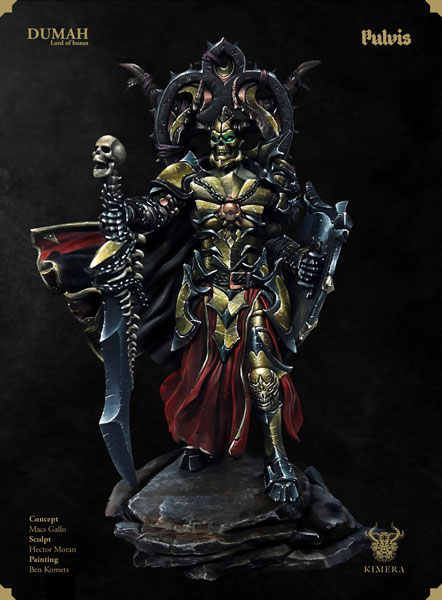 Dumah Acolyte Lord of Bones