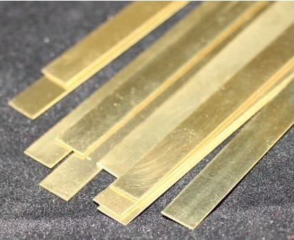 Brass Strip .016 x 3/4 x 12 - 1 pc.
