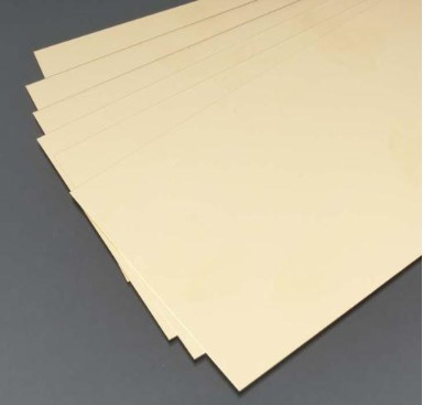Brass Sheet Metal .015 - 4 x 10 Sheet