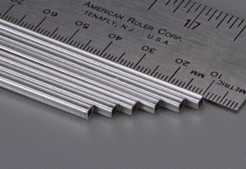 1/8x12 Square Aluminum Tube .014 Wall (1)