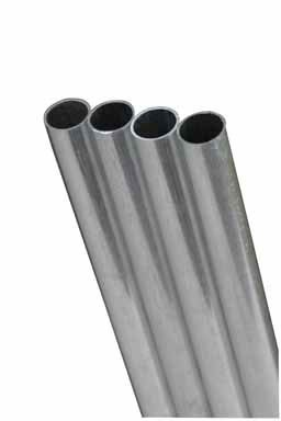 Aluminum Tube .014 Wall - 1/4 x 12 - 1pc.