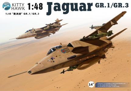 British Jaguar GR.1/GR.3 Fighter/Bomber