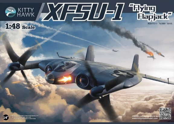 XF5U1 Flying Flapjack US Navy Fighter (New Tool)