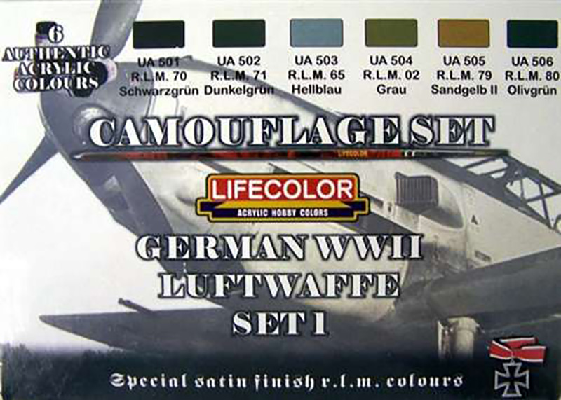 World War II Camouflage German Luftwaffe Set #1