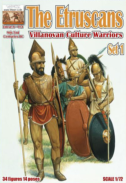 The Etruscans, Villanovan Culture Warriors 9th-5nd Centuries BC