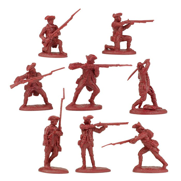 Revolutionary War British Regular Army Playset