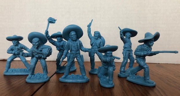 Mexican Bandits Figure Playset