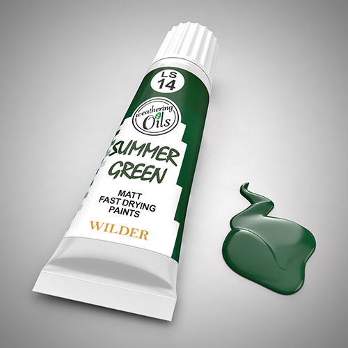 Weathering Oil Summer Green 20ml