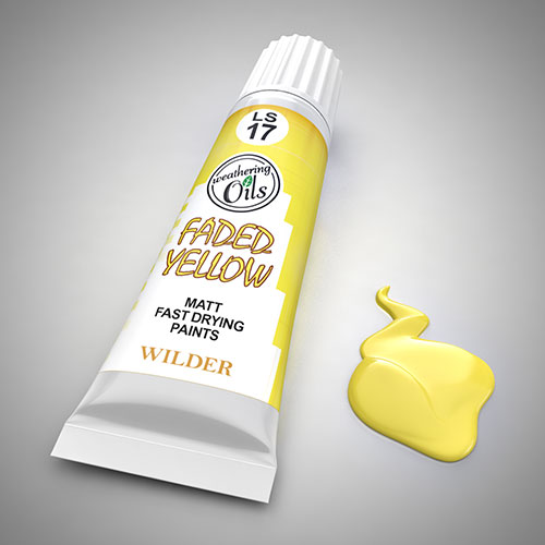 Weathering Oil Faded Yellow 20ml