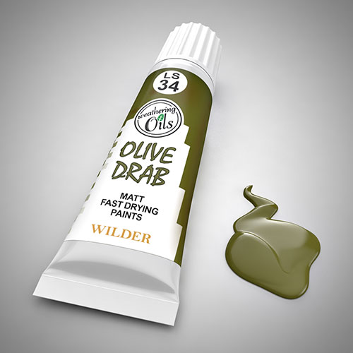 Weathering Oil Olive Drab 20ml
