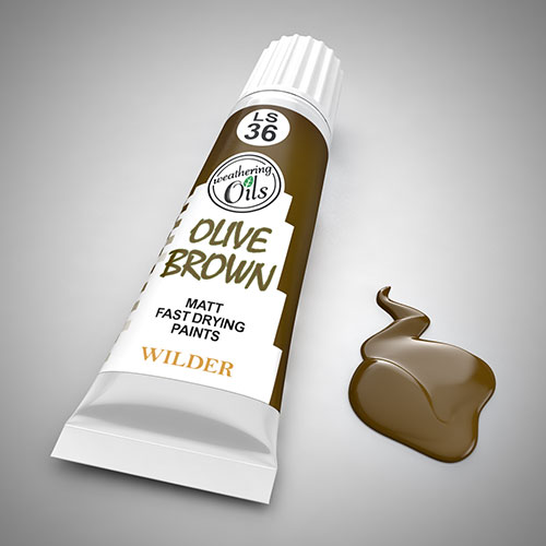 Weathering Oil Olive Brown 20ml