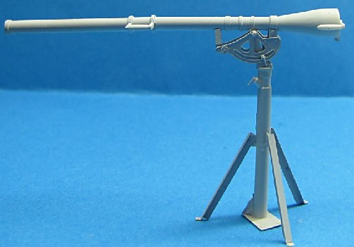 WWII US Army 75mm Recoilless Rifle T21 w/T47 Pedestal (Resin)