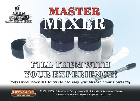 Lifecolor Master Mixer Set