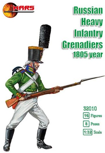 Russian Heavy Infantry Grenadiers 1805