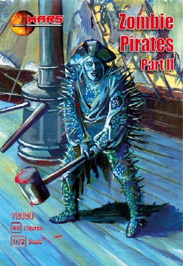 Zombie (Mutant) Pirates Set II