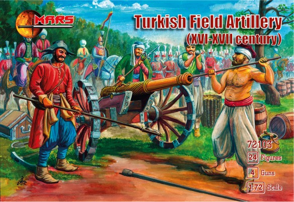 XVI-XVII Century Turkish Field Artillery