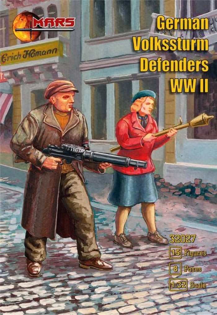 WWII German Volkssturm Defenders