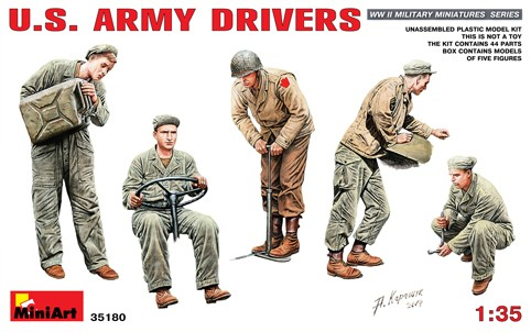 WWII US Army Drivers (5)