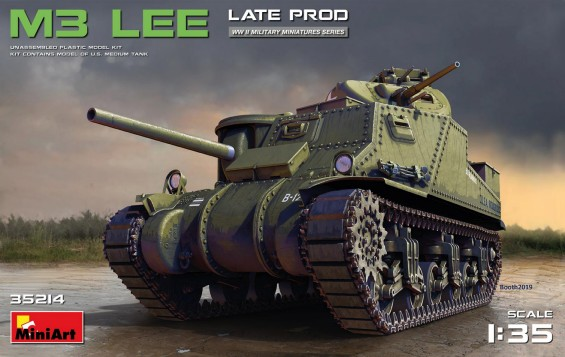 M3 Lee Late Production Tank