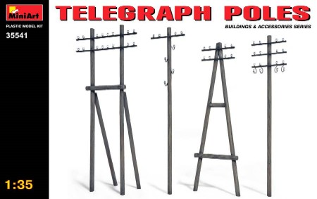 Telephone Poles (Various Types)