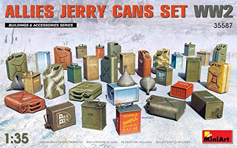 WWII Allies Jerry Cans Set