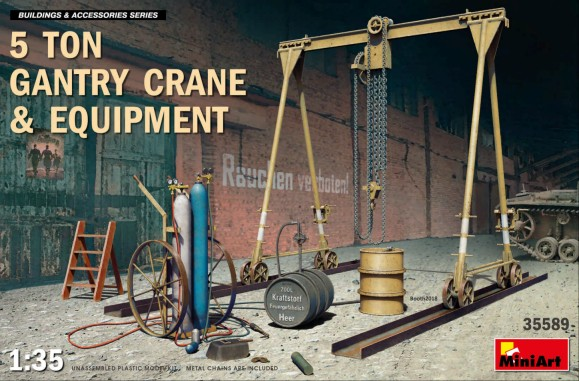 5-Ton Gantry Crane & Equipment