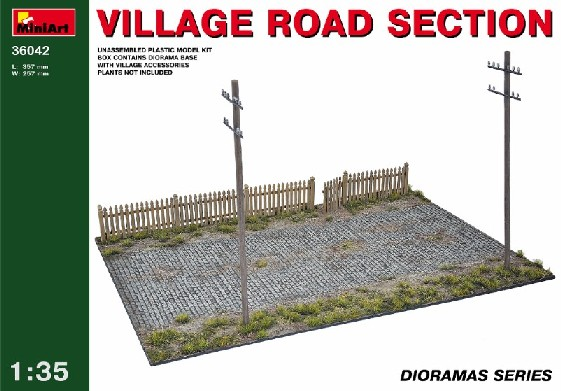 Village Road Sections (2 7