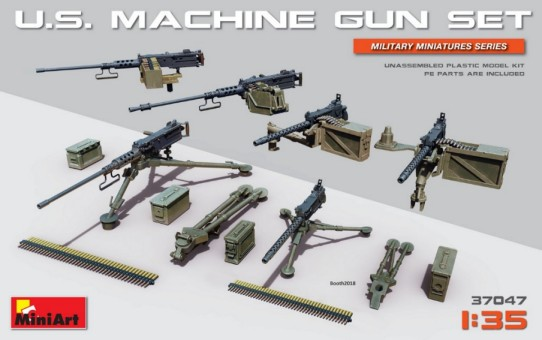 US Machine Gun Set