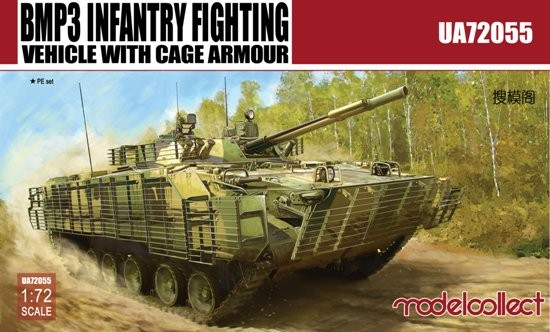 BMP3 Infantry Fighting Vehicle w/Cage Armor (Model Kit)