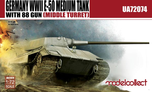 E-50 Medium Tank with 88mm Gun (Middle Turret)