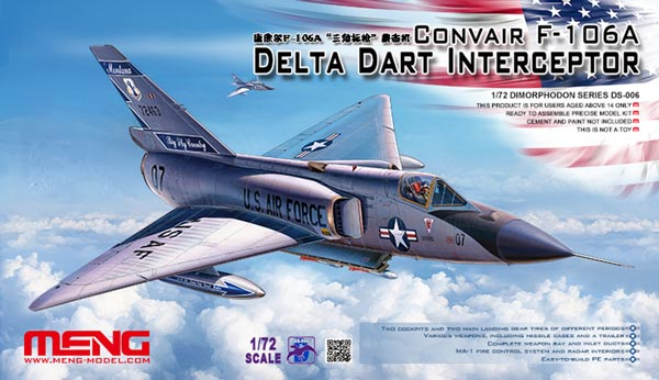 Convair F106A Delta Dart Interceptor (Limited)