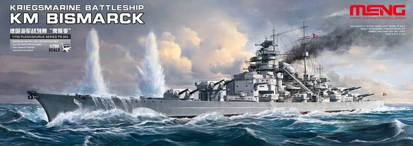 KM Bismarck German Battleship