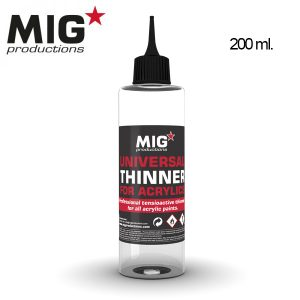 Universal Thinner for Acrylics 200ml