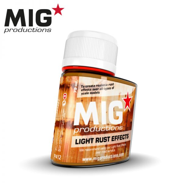 MIG Wash- Light Rust Effects