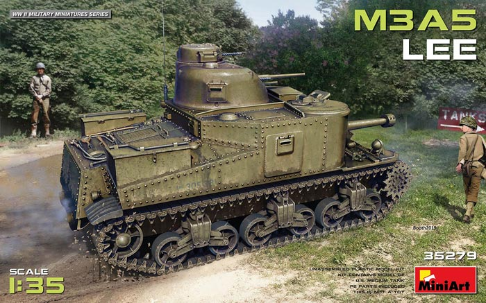 WWII M3A5 LEE