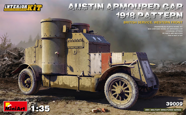 Austin Armored Car 1918 Pattern
