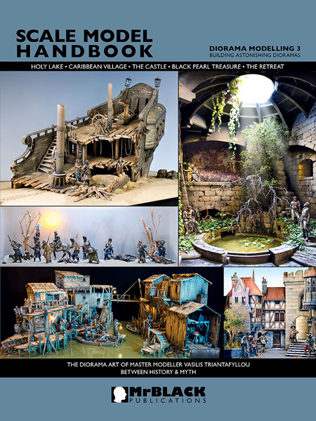 Mr. Black Scale Model Handbook Diorama Modelling 3