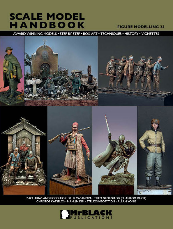 Mr. Black Scale Model Handbook-Figure Modeling 23