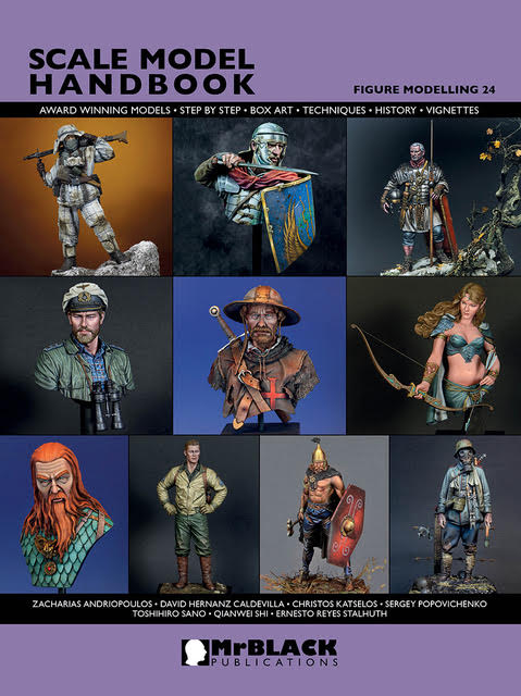 Mr. Black Scale Model Handbook-Figure Modeling 24