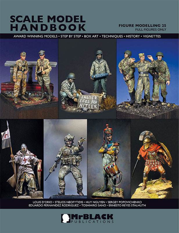 Mr. Black Scale Model Handbook-Figure Modeling 25