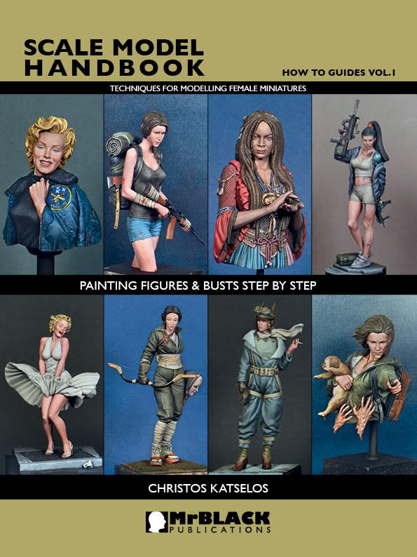 How to Guides Vol.1 - Painting Figures & Busts Step By Step Techniques for Modelling Female Miniatures
