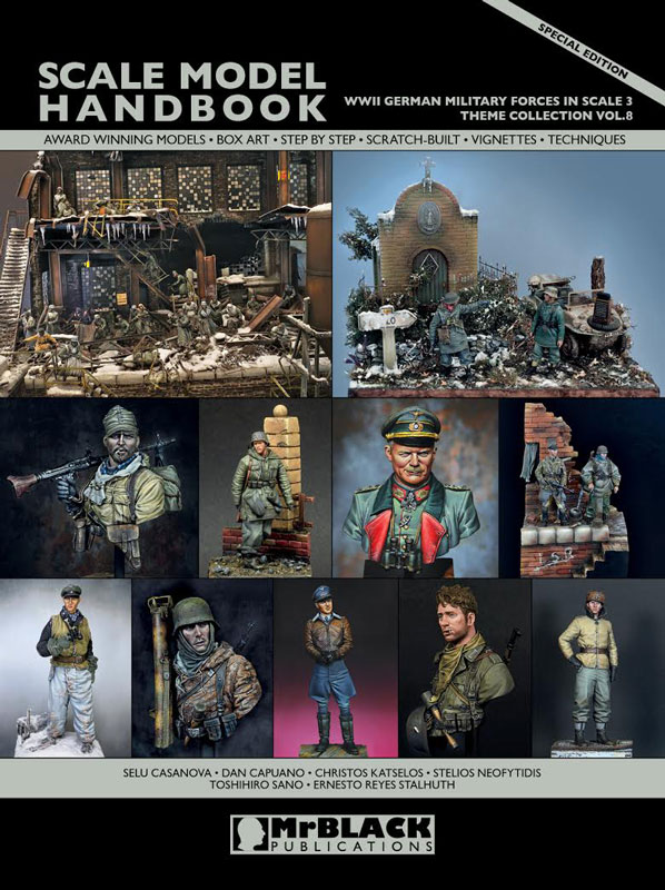 Mr. Black Theme Collection Vol.8 WWII German Military Forces In Scale 3