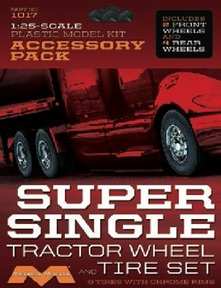 Super Single Tractor Wheel & Tire Set