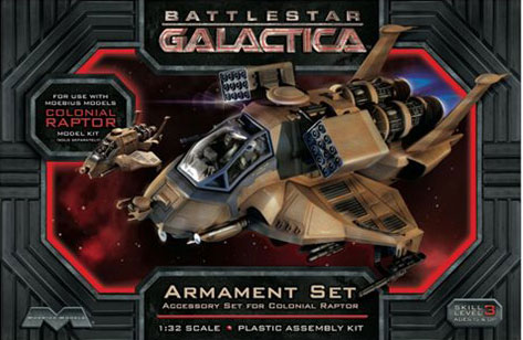 Battlestar Galactica: Colonial Raptor Armament Set