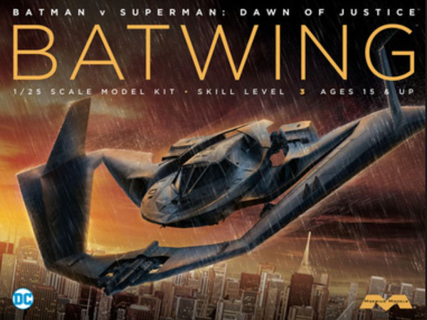 Batman vs Superman Dawn of Justice: Batwing w/Interior