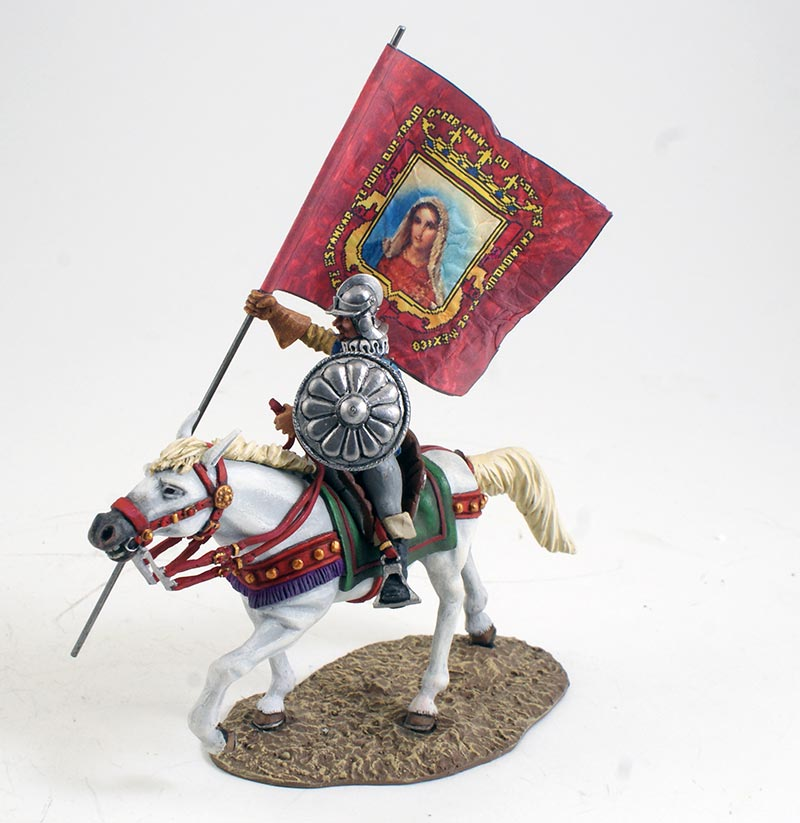 Mounted Conquistador with Standard