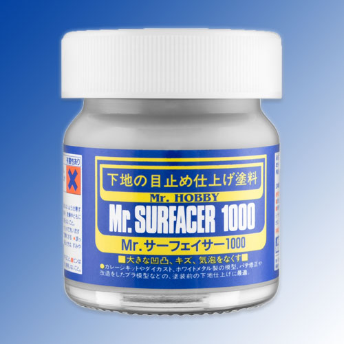 Mr. Surfacer 1000 - Gray - Brush-On - 40ml